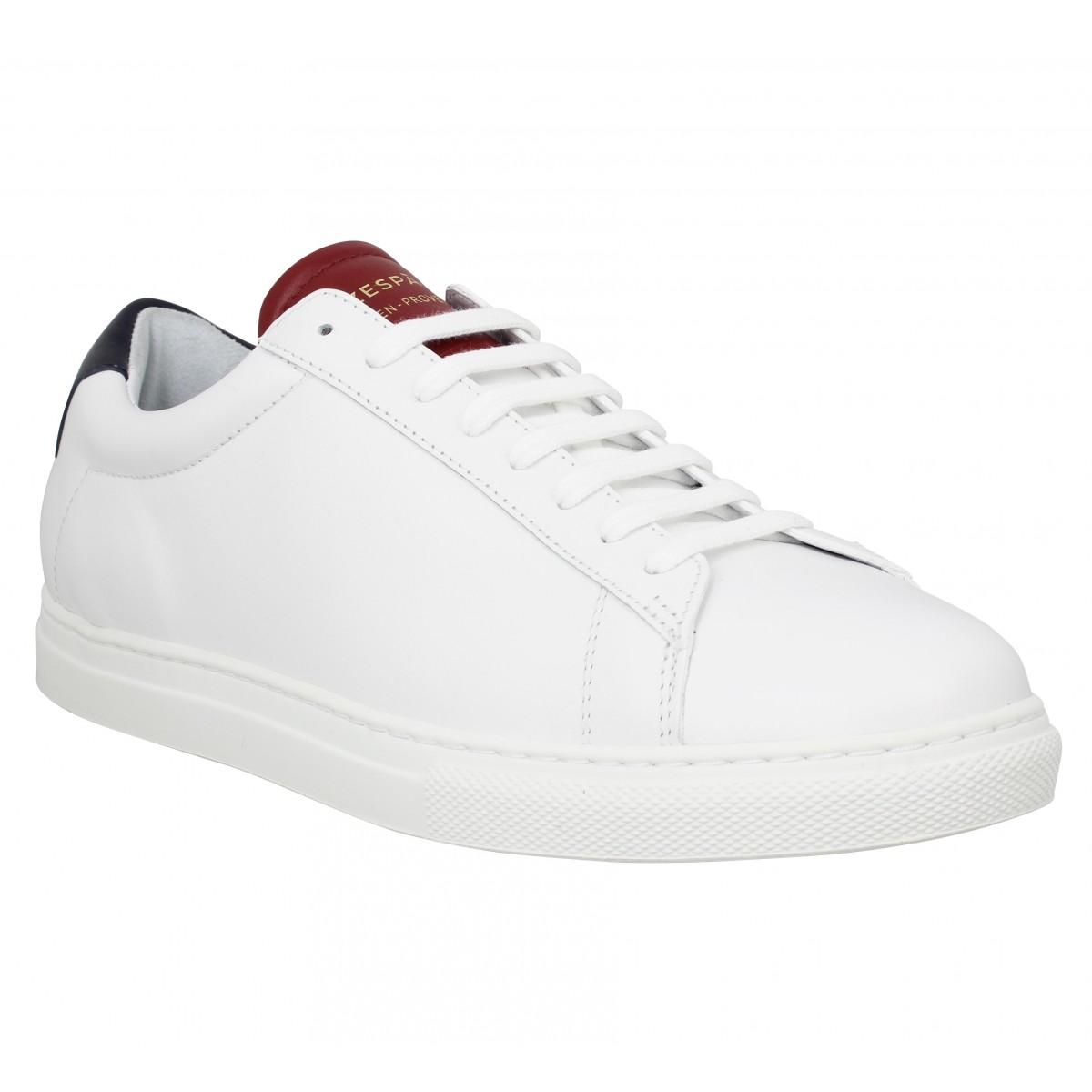 Zespa Marque Zsp4 Cuir Homme-40-white...