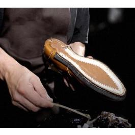 Fabrication d'une paire de chaussures