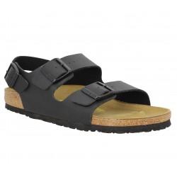 soldes birkenstock arizona birko flor homme noir fanny chaussures. Black Bedroom Furniture Sets. Home Design Ideas