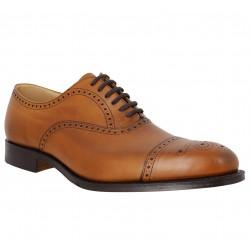 db48eb335c43df CHURCH'S Toronto cuir Chestnut. Chaussures à lacets