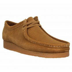 3c40fa0a3bf6d0 CLARKS ORIGINALS Wallabee velours Homme Cola. Chaussures à lacets