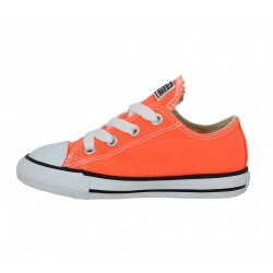 converse orange enfant