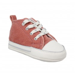 a172c32f8ef9c CONVERSE First Star toile Enfant Pink