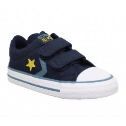 CONVERSE Star Player 2V OX toile Enfant Celeste 44f2af2cf87
