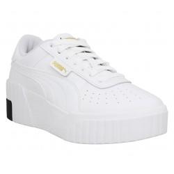 Puma cali cuir femme white femme | Fanny chaussures