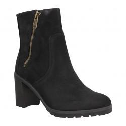 TIMBERLAND Allington Ankle Boot velours Femme Noir