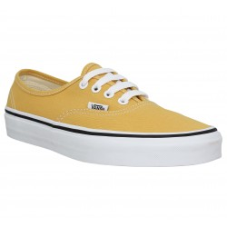 vans femme jaune