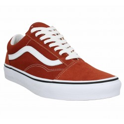 chaussure homme vans rouge