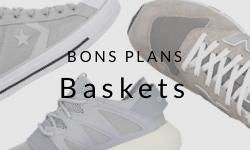 Baskets pas chères